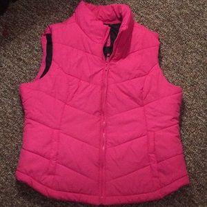 Bright Pink Women Vest